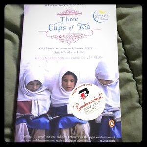 Three Cups of Tea🤑